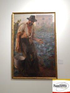 """Giacomo Balla, """"Dei Viventi; Il Contadino"""", 1903 (Ph. Chiara Ricci)"""