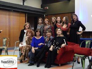 Una parte del gruppo de La Tv delle Ragazze - Gli Stati generali 1988-2018 (Ph. Chiara Ricci)