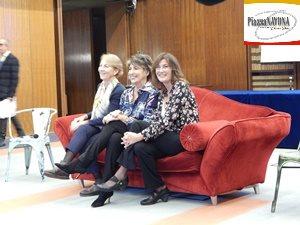 Le autrici: Linda Brunetta, Serena Dandini e Valentina Amurri (Ph. Chiara Ricci)