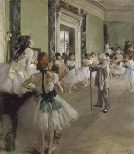 """Edgar Degas, """"La classe di danza"""""""