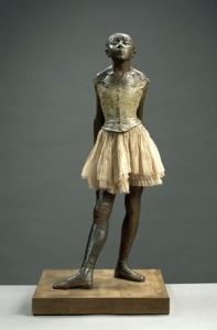 """Edgar Degas, """"La piccola ballerina di quattordici anni"""""""