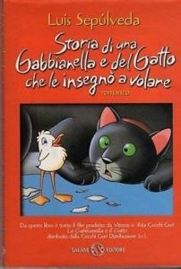 """Luis Sepúlveda, """"Storia di una gabbianella e del gatto che le insegnò volare"""""""