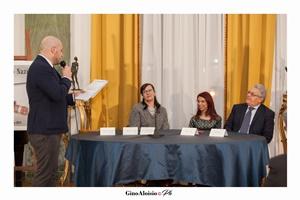 Guido Mastroianni, Maria Valeria Ruggiero, Chiara Ricci, Vito Pinto (Ph. Gino Aloisio)