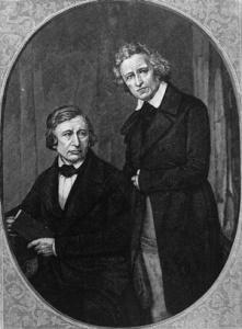 I Fratelli Grimm: Jacob Ludwig Grimm e Wilhelm Karl Grimm