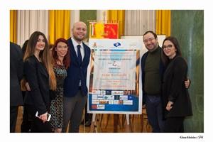 Martina Canosa, Chiara Ricci, Guido Mastroianni, Ciro Marraffa, Angela Rocciola (Ph. Gino Aloisio)