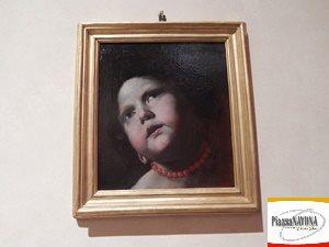 """Mattia Preti, """"Testa di bambina con collana di corallo"""" (1645 - 1650) - Ph. Chiara Ricci"""