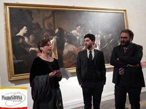 Flaminia Gennari Santori, Yuri Primarosa, Alessandro Cosma (Ph. Chiara Ricci)