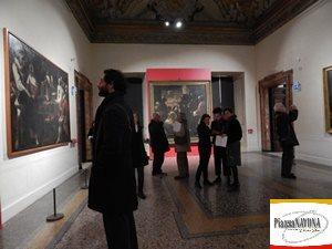 """Anteprima stampa della mostra """"Il trionfo dei sensi. Nuova luce su Mattia e Gregorio Preti"""" (Ph. Chiara Ricci)"""