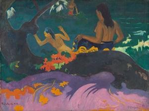 "Paul Gauguin, ""Fatata te Miti"", 1892"