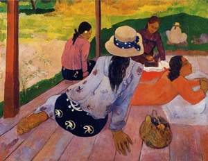 "Paul Gauguin, ""The Siesta"", 1891"