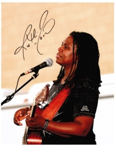 Ruthie Foster, Signed Photo (By courtesy of Ruthie Foster)