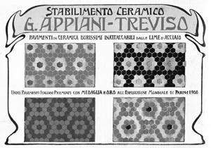 Le Ceramiche Appiani di Treviso