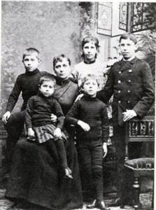 La famiglia di Paul Gauguin