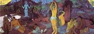 """Paul Gauguin, """"Da dove veniamo? Chi siamo? Dove andiamo?"""", 1897-1898"""