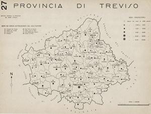Treviso e provincia nel 1938