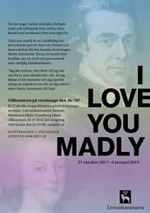 """Conferenza tenuta da Evelyn Farr a Stoccolma nel marzo 2018 dal titolo """"I love you madly"""" (Per gentile concessione di Evelyn Farr)"""