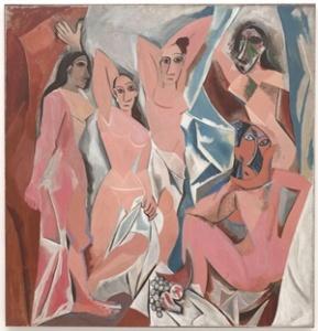 """""""Les demoiselles d'Avignon"""", Pablo Picasso (1907)"""
