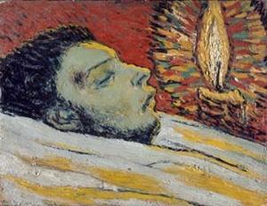 """""""La morte di Casagemas"""", Pablo Picasso (1901)"""