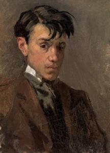 """""""Autoritratto"""", Pablo Picasso (1896)"""