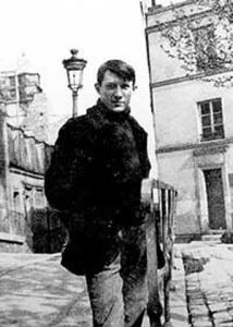 Un giovane Pablo Picasso