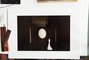 """Anni Leppälä, """"Worktable (mirror and statue)"""" - Per gentile concessione di Anni Leppälä"""