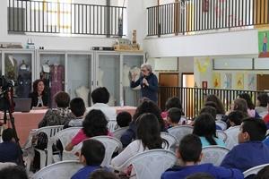 Roberta Fasanotti incontra gli alunni