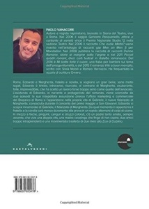 """Quarta di copertina di """"L'ultimo salto del canguro"""" di Paolo Vanacore,(Castelvecchi, 2017)"""