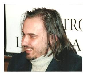 Lo scrittore Alessandro Ticozzi