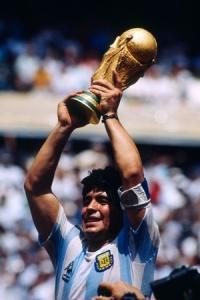 Diego Armando Maradona - Campione del Mondo Messico '86
