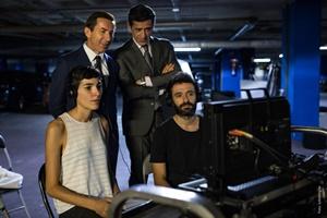 """Sul set del film """"Il Regno"""" (Ph. ©Julio Vergne)"""