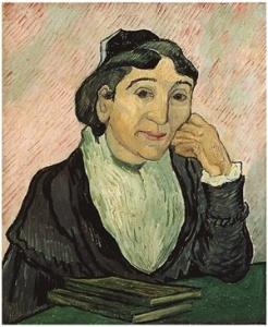 "Vincent Van Gogh, ""L'Arlesiana (Madame Ginoux)"", 1888"