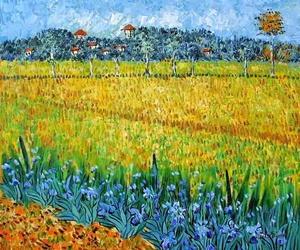 "Vincent Van Gogh ""Campo di fiori vicino Arles"" (1888)"