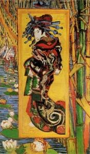 """Vincent Van Gogh, """"La Cortigiana"""" (1887)"""