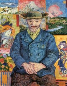 """Vincent Van Gogh, """"Ritratto di Père Tanguy"""" (1887)"""