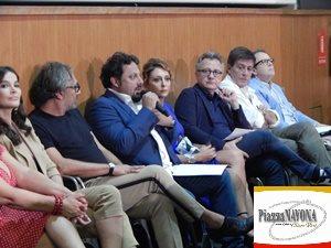 """La conferenza stampa del film """"Tutta un'altra vita"""" di Alessandro Pondi (Ph. Chiara Ricci)"""