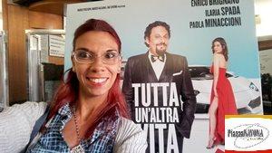 """La scrittrice Chiara Ricci all'anteprima stampa del film """"Tutta un'altra vita"""" di Alessandro Pondi"""