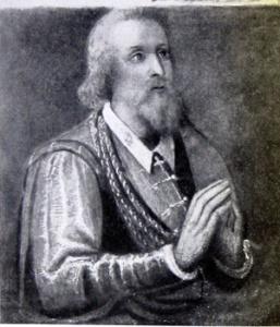 Ritratto di Aleramo, affresco (Grazzano Badoglio, Abbazia di Grazzano - Grazzano Monferrato, Asti)