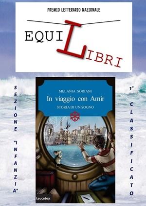 """Melania Soriani, """"Il viaggio con Amir"""" (Edizioni Leucoteca) - Graphic Art Chiara Ricci"""