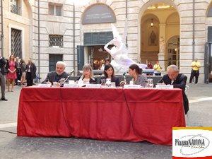 """La conferenza stampa di """"Canova. Eterna bellezza"""" (Ph. Chiara Ricci)"""