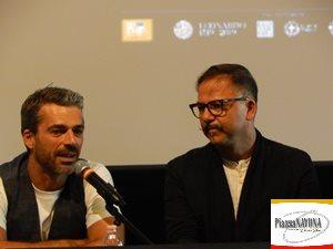 """Luca Argentero e Jesus Garces Lambert alla conferenza stampa del film """"Io, Leonardo"""" (Ph. Chiara Ricci)"""