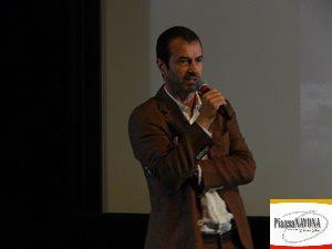 Andrea Occhipinti, fondatore della Casa di distribuzione Lucky Red (Ph. Chiara Ricci)