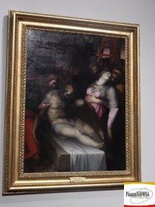 """Marcello Venusti, """"Deposizione di Cristo"""", olio su tela (1550-1560) - Roma, Accademia Nazionale di San Luca (Ph. Chiara Ricci)"""