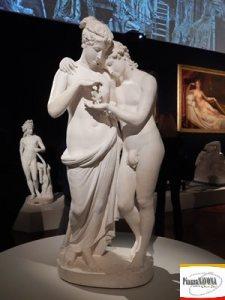 """Antonio Canova, """"Amore e Psiche"""" - in gesso (Ph. Chiara Ricci)"""