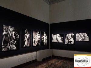 """Le opere di Antonio Canova attraverso le immagini di Mimmo Jodice esposte in """"Canova. Eterna bellezza"""" (Ph. Chiara Ricci)"""