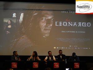 """La conferenza stampa del film di """"Io, Leonardo"""" diretto da Jesus Garces Lambert (Ph. Chiara Ricci)"""