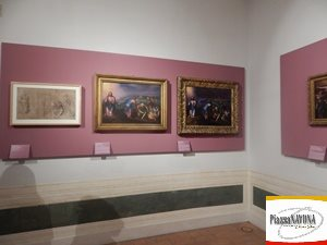 """La mostra """"Michelangelo a colori. Marcello Venusti, Lelio Orsi, Marco Pino, Jacopino del Conte"""" (Ph. Chiara Ricci)"""