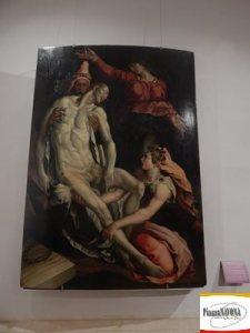 """Jacopino del Conte, """"Deposizione di Cristo"""", olio su tavola (1560-1570) - Roma, Gallerie Nazioni di Arte Antica, Palazzo Barberini (Ph. Chiara Ricci)"""