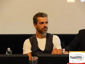 """Luca Argentero alla conferenza stampa del film """"Io, Leonardo"""" (Ph. Chiara Ricci)"""