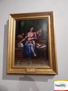 """Marcello Venusti, """"Madonna del Silenzio"""", olio su tavola (post 1563) - Roma, Gallerie Nazionali di Arte Antica, Galleria Corsini (Ph. Chiara Ricci)"""