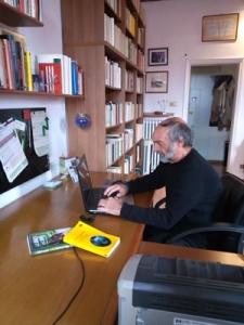 Lo scrittore Paolo Lanzotti (Per gentile concessione di Paolo Lanzotti)